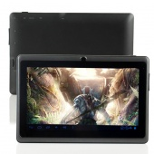Black Android 4.0.4 Tablet PC A13 Q88 7 Inch Capacitive ScreenCamera Support Wifi