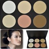 Women Makeup Cosmetic Contour Shading Concealer Powder Palette 6 Colors/Set
