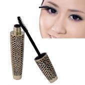 1 PCS New Eye Lashes Makeup Long Curling Eyelash Snake Design Black Fiber Thick Mascara