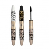 Leopard Waterproof Lengthening Extension Eyelash Eye Lash Transplanting Gel Fiber Mascara MAKEUP