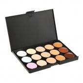 Professional Fashion Makeup Concealer /Camouflage Neutral Palett 15 Color