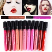 Waterproof Lipstick Lip Gloss 11 Colors Lipgloss Velvet Matte Lipstick Red Color Vitality Cerise Star