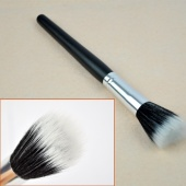Foundation Black Professional Powder Blush Brush Cosmetic Fiber Stipple
