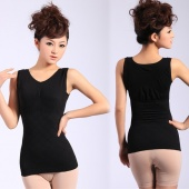 Slimming Control Cotton Curve Model Body Shaper Firm Tummy Control Vest Shape Wear Waspie