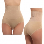 Women Body Shapewear Seamless Abdomen in Brief Underwear Panties Lower Abdomen Waist Cincher Tummy Control Girdle Panty