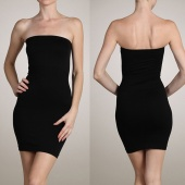 Women's Firm Control Seamless Body Shaper Full Slip Stretch Slimming Tube Dress