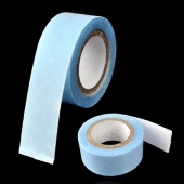 Fashion Tape Weft Human Hair Extensions Replacement Blue Tape Bulk Roll 3m Extra Strong