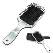 """The """"WET"""" Detangling Hair Brush with Hard Plastic Handle 2Colors"""