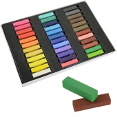 Easy Temporary 36 Colors Non-toxic Hair Chalk Dye Soft Hair Pastels Kit