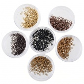 200 PCS Nano Micro Rings Beads for Use with Nano Hair Extensions