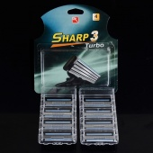 8 PCS Layer 3 Blade Razor Blades for Men with Packing Box EU& US& RUS