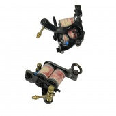 Black Carbon Steel Tattoo Machine Gun Professional for Liner