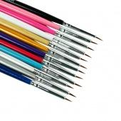 12Pcs Nail Art Designer Pen Brush Painting Dotting Acrylic Tool