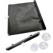 Auto Car Side Window Black Dot Roll Blind Auto Sun Shield Visor Windshield Shade Pull Down 40 X 60cm/15.6 X 23.4inch