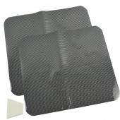 2 Pcs Cars/Auto Car Black Dot Windshield Block Window Side Sun Shade Shield Visor