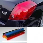 "12"" X 24"" Auto Car Smoke Fog Light HeadLight Taillight Tint Vinyl Film Sheet Car Sticker"