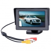 """4.3"""" TFT LCD Car Monitor Reverse Rearview Color Camera DVD VCR CCTV"""