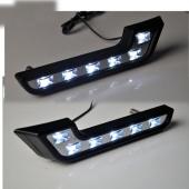 High Power M.Benz Style 6 LED Daytime Running Light Kit Driving Daylight Lamp Bulb