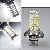 Car H4 3528 102 SMD LED White Headlight Bulb Head Light 12V DC