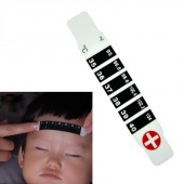 Forehead Head Strip Fever Thermometer Baby Child Adult Body Check Test Temperature Monitoring