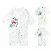 Baby Infant Boys Girls Clothing Button Two-piece Suit Set Long Sleeve Tops + Pants 3 Colors