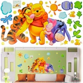 Colorized Good Quality DIY Animals Bear Decoration Fashion Wall Sticker