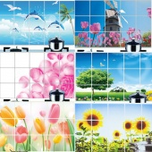 HOT DIY Removable Wall Sticker 7 Patterns Mural Decal Kitchen Decor Oil-proof Heat-resistant