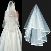 2012 Fashion Lady Wedding Prom Bridal Veil Comb White Beige