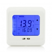 LCD Programming Touch Screen Digital Underfloor Heating Room Thermostat