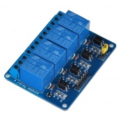 Blue 5V 4-Channel Relay Module Low Strigger for Arduino PIC ARM DSP AVR MSP430