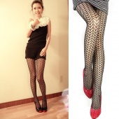 Fashion Sexy Women Wheat Grain Hollow Socks Stockings Fishnet Net Pattern Pantyhose Tights