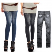 """Fashion Women""""s Ladies Jeggings Stretch Skinny Leggings Tights Pencil Pants Casual Jeans"""
