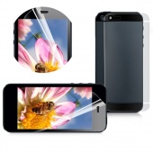 2pcs Phone Frosting Protective Film Phone Screen Membrane for IPhone 5 5G