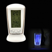 LED Backlight Multi-function Square Digital Music Calendar Thermometer Alarm Clock