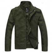 Fashion Men's Slim Fit Casual Zipper Design Jackets Coat