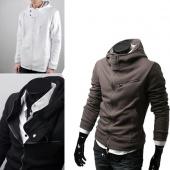 Stylish Fashion Men's Designed Slim Fit Hoodies Coat Jacket Sweatshirt Tops