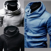 South Korea Men's Stylish Designed Thickening Hoodie Jacket / Coat / Sweatshirt 3 Colors