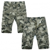 Casual Men's Loose Leg Camouflage Military Shorts Short Pants Camo Trousers