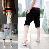 Fashion Men's Casual Cool Sport Rope Short Pants Jogging Trousers Three Colours