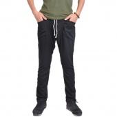 Men's Regular Fit Sports Harem Pants Bag Jogging Trousers Black/Dark Gray