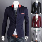 Men's Casual TOP Design Sexy Slim FIT Blazers Coats Suit Jackets