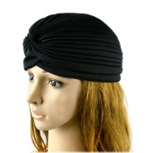 Turban Hat Hair Head Wrap Cap Headwrap Fashion Unisex Indian Style Stretchable