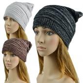 Unisex Hip-hop Style Winter Baggy Beanie Knit Crochet Hats 3 Colors