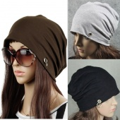 Personality Unisex Cap Hoop Hip Hop Warm Baggy Ski Beanies Skull Wrap Hats Cap