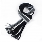 Men's Winter Classical Artificial Wool Scarf Tassels Scarf Long Pashmina Shawl