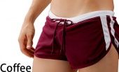 Men's Sport Short Boxer Brief Mesh Shorts Underwear 5 Colors 3 Sizes