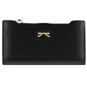Korean Version of Sweet And Cute Bow Multi- Card Handbag Ms. Long Wallet