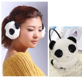 Fashion Cartoon Plush Panda Design Keep Warm Cute Earmuff Ear Shield Earmuff