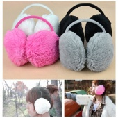White Rose Red Korea Cute Keep Warm Earmuff Ear Shield Earlap Lovely
