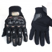 Motorcycle Bike FULL FINGER Racing Riding Sports Protective Gloves Black M L XL